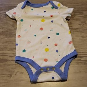 $1 w/ bundle! Baby Girl Fruit & Shapes Onesie